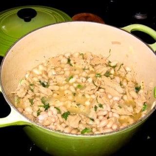 Southwest White Bean Stew
