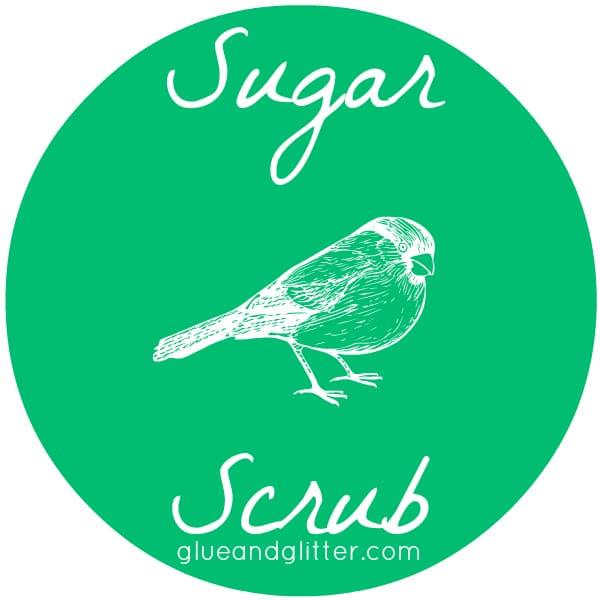 Sugar Scrub Label