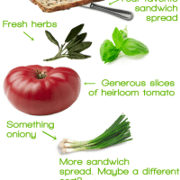 How to Build the Perfect Tomato Sandwich