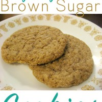 I am in love with these vegan brown sugar cookies! They're so easy, and the brown sugar gives them a lovely, complex molasses flavor.