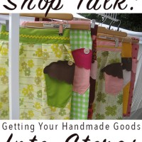 Approaching stores about carrying your handmade goods can be gut-wrenchingly hard. This is the most difficult thing that I do as an indie business owner, and the more I do it, the more I learn about how to come out of my shell and promote myself and my business. Here's what I've learned after approaching lots of shops about stocking my wares!