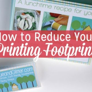 Shop Talk: Lowering Your Printing Impact
