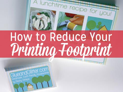 From the paper and ink to the printer itself, printing can have a really big impact. Here are a few resources to help your printed materials have a lighter impact.