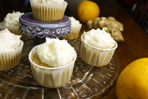 Orange and ginger is such a classic combo, and it works beautifully in these vegan orange ginger cupcakes. I think the spicy ginger frosting is really the key.