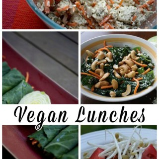 In the spirit of reviving my lunchtime cooking skills, here are some quick vegan lunch ideas! You can pack any of these vegan lunches on their own or mix and match for a satisfying, easy meal on the go.