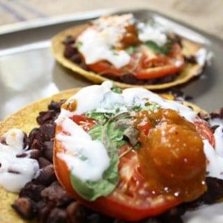 Quickie Lunch: Vegan Tostadas