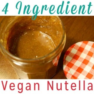 Vegan Nutella Recipe with Only Four Ingredients