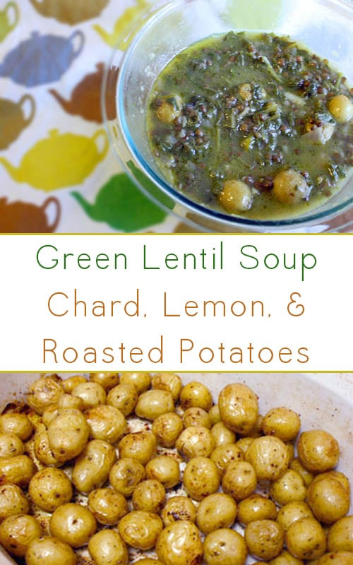This green lentil soup makes a filling main dish or a hearty side with a green salad to round out the meal.