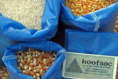 Reusable produce bags from Kootsac