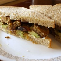 vegan sandwich for lunch