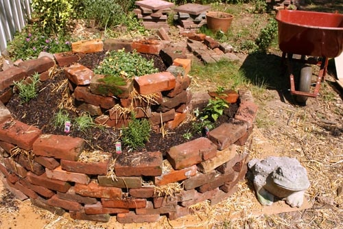 Our Pair Of Herb Spirals Are My Favorite Part Of Our New Backyard Garden.  Hereu0027s