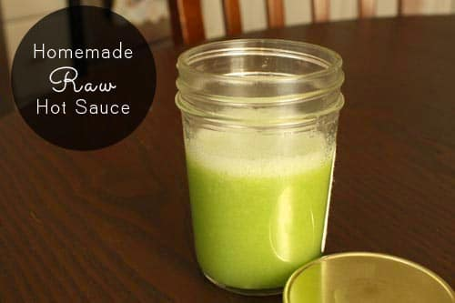 Raw hot sauce is the quickest, easiest condiment you can make. Here's how to make raw hot sauce from any peppers you like.