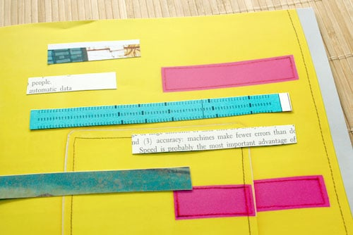 Here's how to make DIY washi tape using paper from your stash!