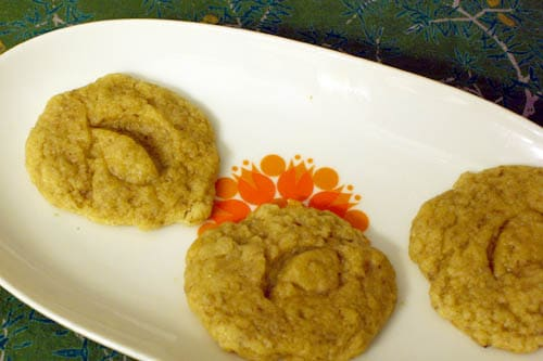 Ginger-Cardamom Vegan Sugar Cookies