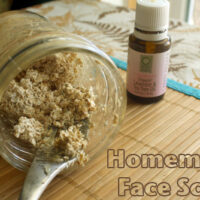 Rather than buy a pricey face scrub in a single-use plastic container, why not whip up your own homemade face scrub with ingredients from the pantry?
