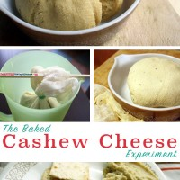 The Baked Cashew Cheese Experiment - Baking your cashew cheese gives it a nice outer rind. It's perfect for slicing, spreading on crackers, or stuffing into a sandwich.