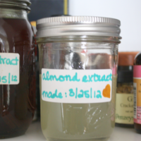 how to make almond extract