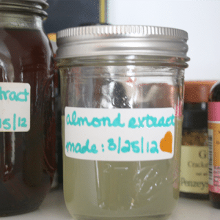How to Make Almond Extract with Just Two Ingredients