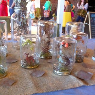 Wordless Wednesday: Mason Jar Competition at Salvage