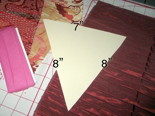 bunting template