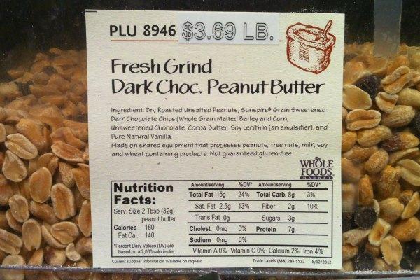vegan chocolate peanut butter