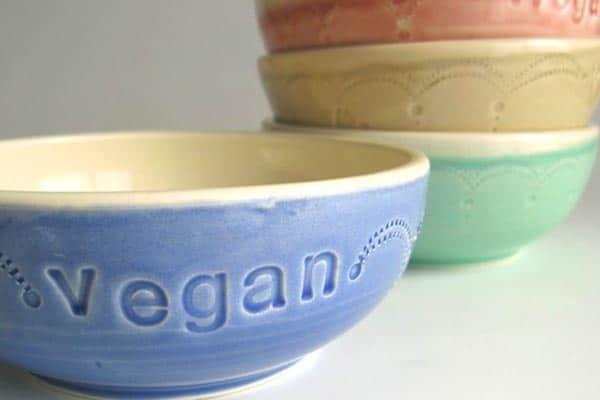 vegan cereal bowls
