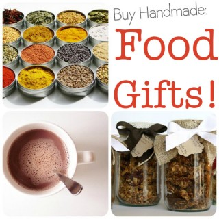 Buy Handmade: Food Gifts