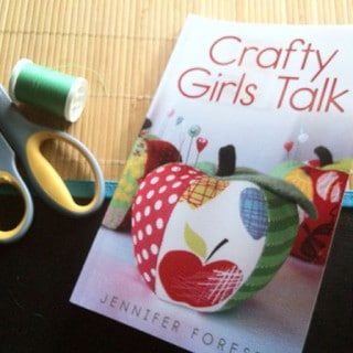 New Craft Book: Crafty Girls Talk (and I'm interviewed in it!) #lml