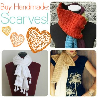 Buy Handmade: Gorgeous Scarves for Stocking Stuffers