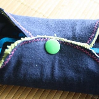 How-to: Make Cloth Pads from Reclaimed Fabrics