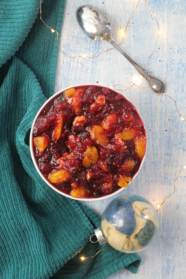 Mandarin Orange Cranberry Sauce was always a staple at holiday meals when I was a kid. We've been making it exactly like this for decades.