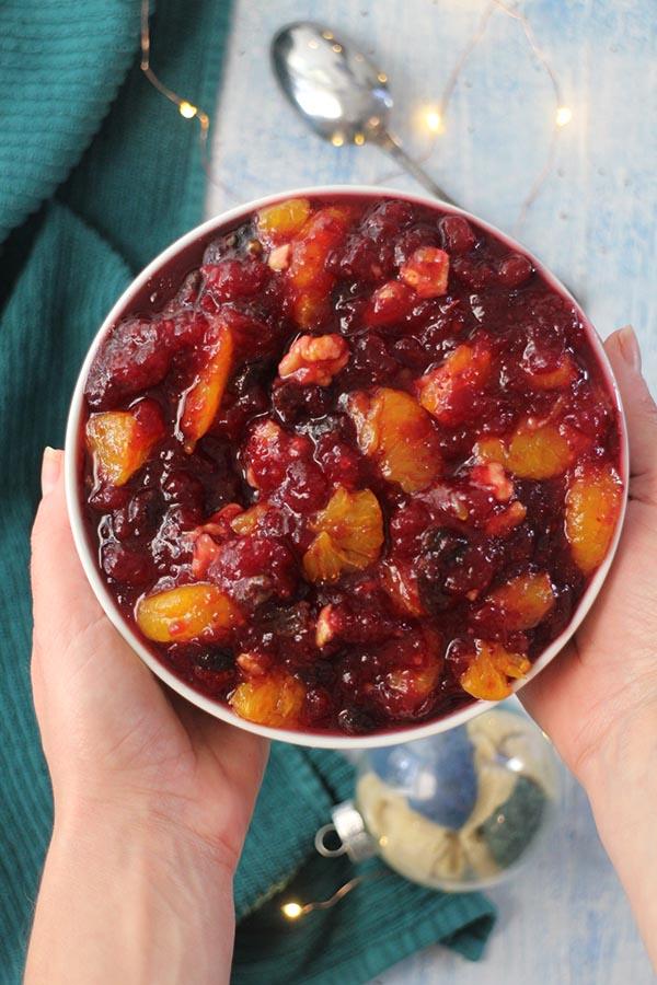 Mandarin Orange Cranberry Sauce