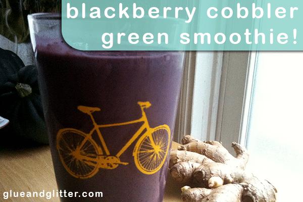 blackberry green smoothie