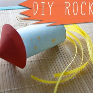 How to Make a Rocket from a Toilet Paper Roll