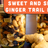 ginger trail mix