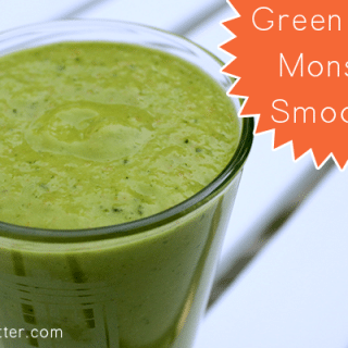 Green Eyed Monster Smoothie
