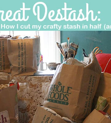 Clean Your Craft Room