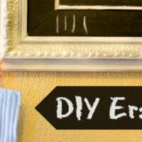make an eraser