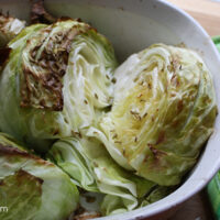 roasted cabbage with fennel seeds