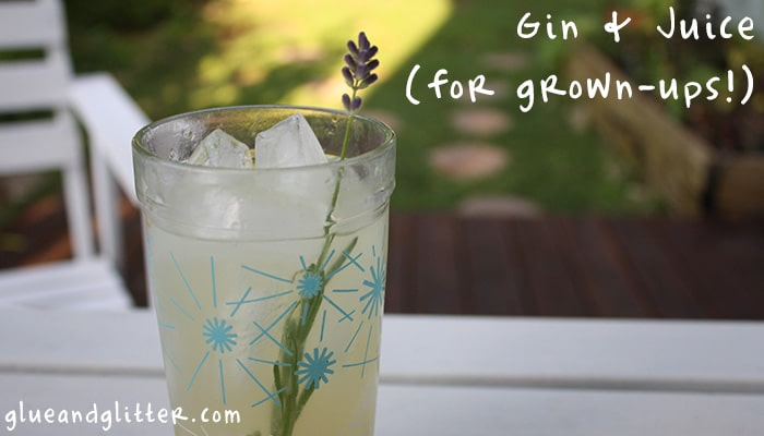 Gin, grapefruit, and lavender make a delicious end-of-summer cocktail for a hot day. Think of this as a grown up version of gin and juice!