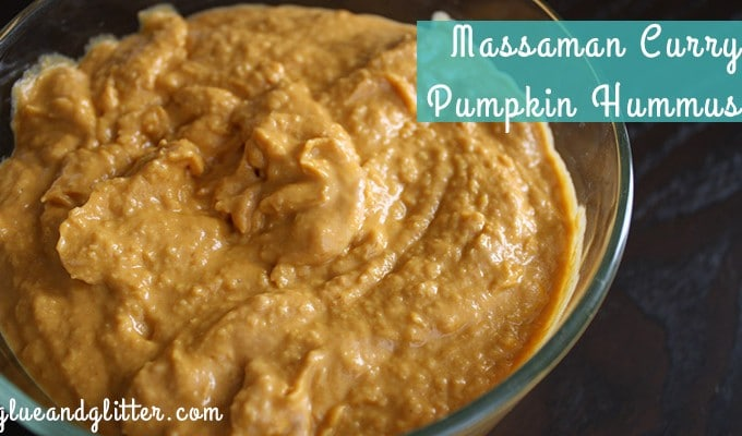 massaman curry pumpkin hummus