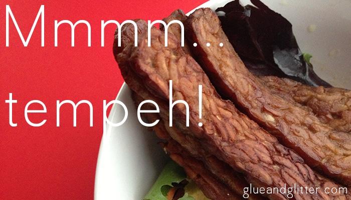 tempeh bacon salad
