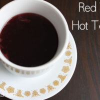 Red Wine Hot Toddy Recipe