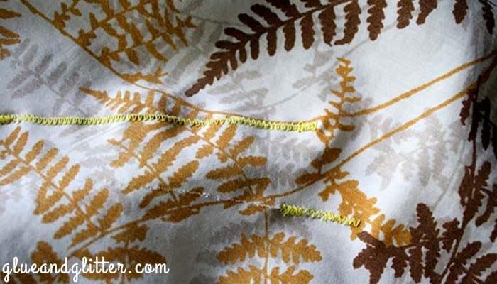 repair a tear tablecloth