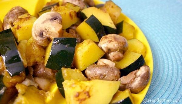 vegan hobo dinner recipe