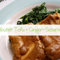 Tofu Recipe Baked Peanutbutter Tofu