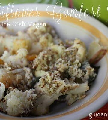 Cauliflower Comfort Bake from One Dish Vegan