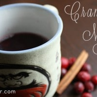 Holiday Cocktails: Cranberry Mulled Wine