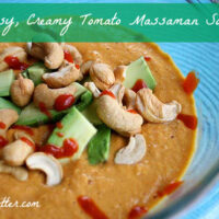 Easy Vegan Recipes: Tomato Curry Soup