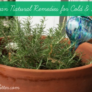 Vegan Natural Remedies for Cold and Flu